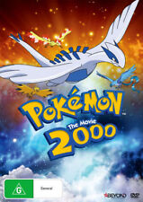 POKEMON 2000 THE MOVIE - POWER OF ONE  - DVD - UK Compatible - Sealed