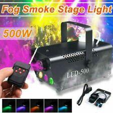 13 farben Nebelmaschine 500W Mit Fernbedienung LED RGB Nebeleffekt Rauchmaschine