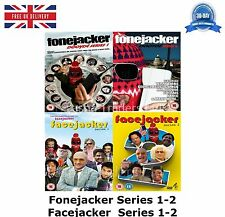 Fonejacker Series 1-2 / Facejacker Series 1-2  4-Disc Box Set 20New UK R2 DVD