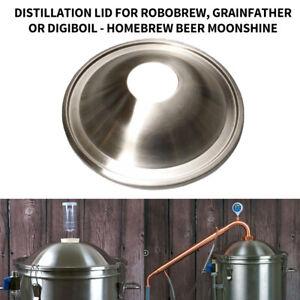 Distillation Lid for Robobrew Grainfather Digiboil - Homebrew Beer Moonshine New