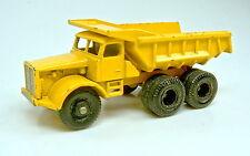 Matchbox RW 06C Euclid Quarry Truck gelb Version mit 6 Rädern