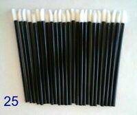 25 x Lip Brushes Makeup Disposable Tool Gloss Lipstick Wands, Applicator Beauty