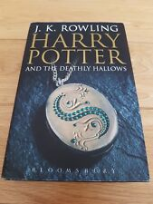 Harry Potter and the Deathly Hallows (Adult) First 1st Edition Hardback
