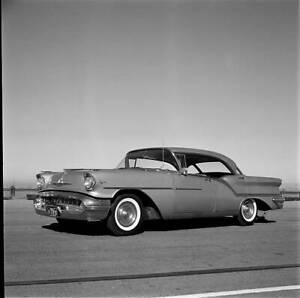 Oldsmobile Super 88 Road Test 1957 model OLD CAR ROAD TEST PHOTO 1