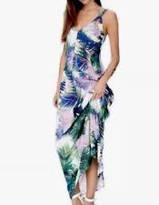Ladies Wish Palm Summertime Maxi Dress. Size 8.