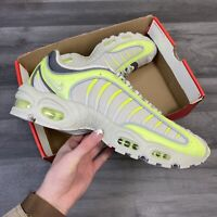 NIKE AIR MAX TAILWIND IV VOLT YELLOW TRAINERS SHOES SIZE UK9.5 US10.5 EUR44.5