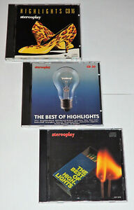 3 CD, Stereoplay, Highlights, The Best Of Highlights, selten