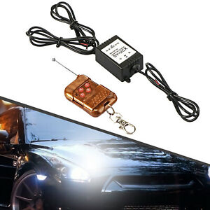 16 Modes Eagle Eye Car Auto 12V LED Flash Light Bulbs Lamps Wireless Remote
