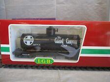LGB G Scale Black Santa Fe Tank Car #CL40803-08
