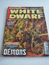 White dwarf magazine games workshop, games and figurines no. 169. tres bon etat.