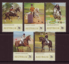 AUSTRALIA 2014 EQUESTRIAN EVENTS UNMOUNTED MINT, MNH