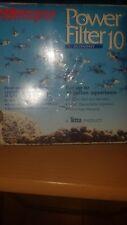 Tetra WHISPER 10 POWER FILTER 5- 10 Gallon Aquariums Fish Tank Elimiates Ammonia