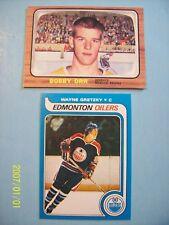 """1979-80 OPC # 18 Wayne Gretzky & 1966-67 # 35 Bobby Orr """"Novelty"""" Rookie Cards!"""