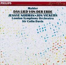 Mahler: Das Lied von der Erde 1985 by Gustav Mahler; Colin Davis; Lon -ExLibrary