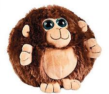 Super Soft and Fluffy Fat Plush Round Monkey