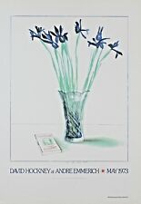 David Hockney Lithograph Andre Emmerich First Edition 1978