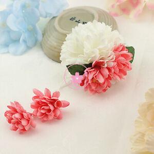 Japanese Artificial Sakura Kimono Hair Clips Tassels Flower Hairpin Yukata Multi