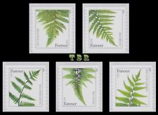 2015 Ferns 4973a-77a 4977a With Microprinting 5 Singles (2015 Date) MNH -Buy Now