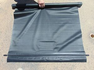 06-09 Pontiac G6 Convertible Rear Trunk Pull Down Cargo Shade Cover Black OEM