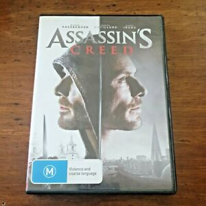 Assassin's Creed DVD R4 Like New! FREE POST