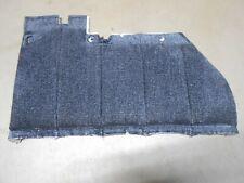 90 Dodge Dynasty LH Drivers Side Rear Door Panel BLUE Upper Carpet Section