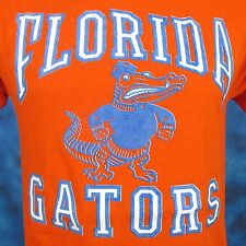 vintage 80s University Of Florida Gators Logo 7 T-Shirt Xs/Small football thin