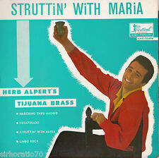 HERB ALPERT TIJUANA BRASS Struttin' With Maria - Mono EP 1960's