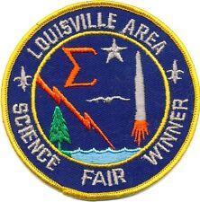 Louisville Regional Science Fair patch - 1960s - LRSEF
