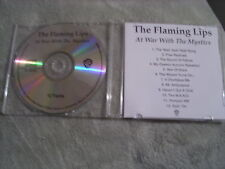 RARE ADVANCE PROMO Flaming Lips CD At War With the Mystics W.A.N.D. Geggy Tah !