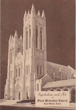 Symbolism and Art of First Methodist Church, Fort Worth, Texas  (Stapled SC)