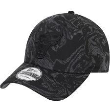 Era Adults Chicago Bulls Seasonal Camo 9forty Adjustable Cap Hat - Black