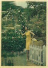 """Rare 3 1/2"""" x 5"""" Ortho Garden Products Lenticular (3D) Postcard"""