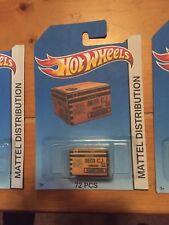 CUSTOM Hot Wheels Style 72 Ct Miniature Case Hot Wheels Box
