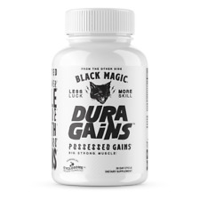 BLACK MAGIC SUPPLY DURA GAINS / Build Muscle / Strength / Anabolic Activator NEW