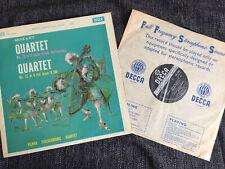 RARE SXL 2286 Mozart String Quartets 20 & 22 VPQ First UK Decca ED1 WBG LP NM/EX