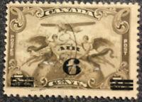 Scott #C3 - 1932 Canada 6 Cent Overprint Air Mail Stamp NH