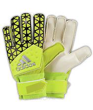 ADIDAS ACE formazione Goal Keeper Gloves Giallo Taglia 9 taglio dinamico Calcio Portiere