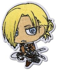 *NEW Attack on Titan: Chibi Annie Lockheart Patch GE Animation Cosplay Anime NEW