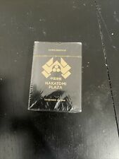 Loot Crate Exclusive Die Hard Movie Nakatomi Plaza Playing Cards Cosplay New