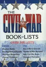 The Civil War Book of Lists