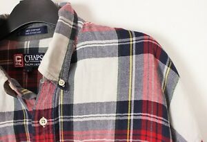 Vintage Early 80s Mens Chaps Ralph Lauren Checked Shirt Urban Outfitters  L