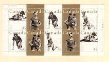 Canada 1996  Olympics booklet pane. Unitrade #1612a VFMNH CV $15.00