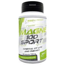 Trec Magne - 100 Sport 60 cápsulas de construcción de músculo culturismo de resistencia