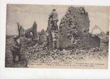 Guerre 1914-16 WW1 Bataille De La Somme Dompierre Vintage Postcard 103b