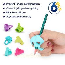 6Pcs/Set Children Pencil Holder Pen Writing Grip Posture Correction Tool New