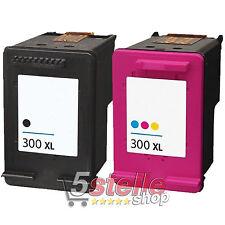 HP 300XL CC641EE+CC644EE Redman Cartucce per DeskJet/Envy/PhotoSmart - Nero+Colore