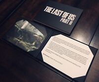 The Last Of Us Part II 2 Collector's Edition Lithograph Art Print and Thank You