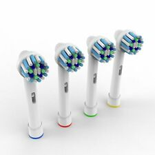 4 x TOOTHBRUSH REPLACEMENT HEADS COMPATIBLE TO ORALB BRAUN CROSS ACTION