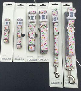 Sydney & Co  Ice Lolly Dog Collar & Leash Lead Various Sizes