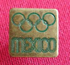Very Rare Mexico 1968 Summer Olympic Games Official Metal Pin Badge Lapel